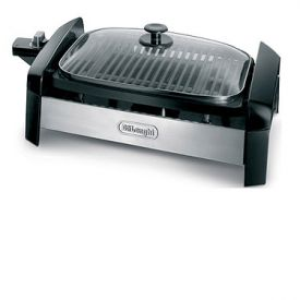 Enlarge DeLonghi BG35 - 140 Sq. In. Indoor Grill with Stainless Steel Accents
