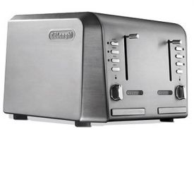Enlarge DeLonghi CTH4003 4-Slice Toaster - Stainless Steel