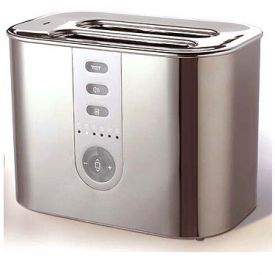 Enlarge DeLonghi DTT720 2-Slice Toaster - Brushed Stainless Steel