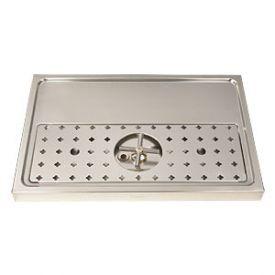 Enlarge DP-1605 - Stainless Steel Rinser Drain Drip Tray - 23 5/8