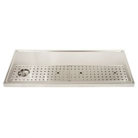 Enlarge DP-1609 - Stainless Steel Rinser Drain Drip Tray - 51