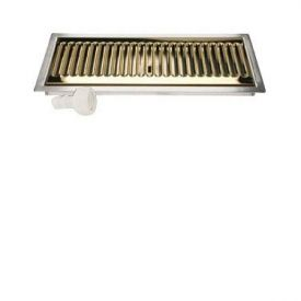 Enlarge DP-220DSSPVD -  Flush Mount Stainless Steel/PVD Brass with Drain
