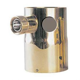 Enlarge DT-2HLKB Single Product Tower Adapter - 2 Holes, 1 Shank Assembly - Brass