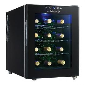 Enlarge Danby DWC1233BL-SC Maitre'D 12 Bottle Wine Cooler