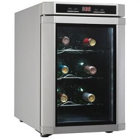 Enlarge Danby DWC620PL-SC 6 Bottle Wine Cooler - Platinum
