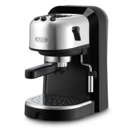 Enlarge DeLonghi EC270 15-Bar-Pump Espresso Machine, Black and Stainless