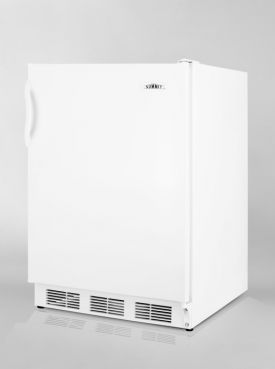 Enlarge Summit AL650 ADA Refrigerator Freezer - White Cabinet / White Solid Door