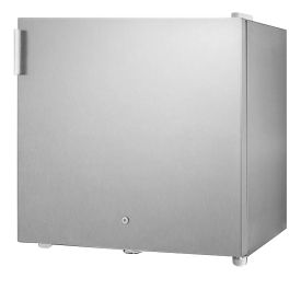 Enlarge Summit FFAR2LCSS7 Stainless Steel 1.8 Cu. Ft. All Refrigerator w Front Lock - Commercially Approved
