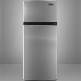 Enlarge Summit FF1152SS Frost-Free Refrigerator-Freezer - Stainless Steel Doors