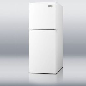 Enlarge Summit FF71 4.8 Cu Ft Frost Free Slim Line Apartment Refrigerator & Freezer