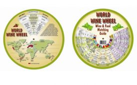 Enlarge World Wine Wheel and Food Matching Guide