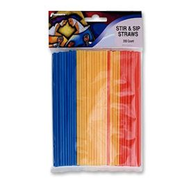 Enlarge Stir & Sip Straws (200 Count)