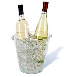 Enlarge Monterey Acrylic Wine Cooler - Clear