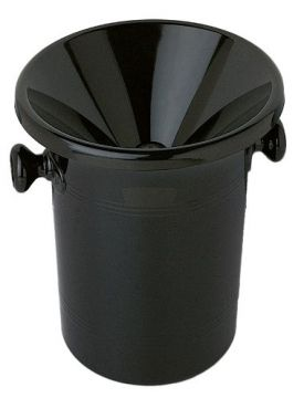 Enlarge Wine Tasting Black Receptacle (Spittoon) with Lid