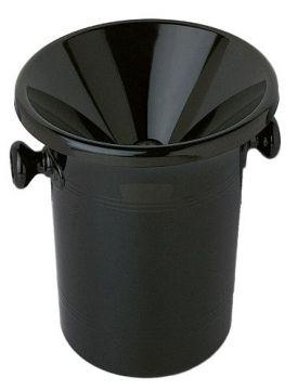 Enlarge Wine Tasting Black Receptacle (Spittoon) with Lid