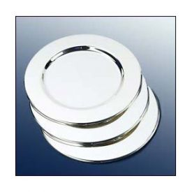 Enlarge Platinum Wine Bottle Coasters (Set of 4)