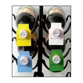 Enlarge Wine Bottle Paper Tags - 4 Colors