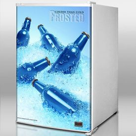Enlarge Summit FS60FROST Cold Cavern Beer & Beverage Cooler - 5.0 Cu. Ft.
