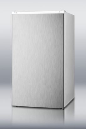 Enlarge Summit FF41SSADA 3.6 Cu. Ft. ADA Compliant Stainless Steel Refrigerator Freezer