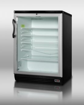 Enlarge Summit SCR600BLPUB 5.5 cf Commercial Beverage Cooler