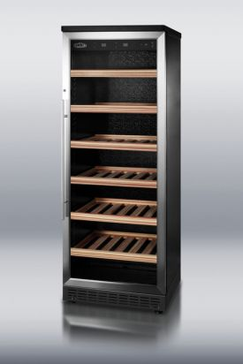 Enlarge Summit SWC1545 80-Bottle Wine Cellar