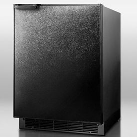 Enlarge Summit BI605B 6.0 cf Built-in Refrigerator-Freezer - Black