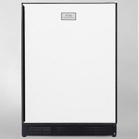 Enlarge Summit CT67 5.3 cf Refriegerator Freezer - White w/Custom Panel Door