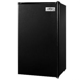 Enlarge Summit FF43ES Compact Auto Defrost Refrigerator - 3.6 Cu. Ft., Black [Energy Star]
