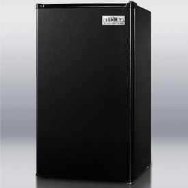Enlarge Summit FF43ESADA 3.6 cf Compact Auto Defrost Refrigerator, ADA Compliant - Black [Energy Star]