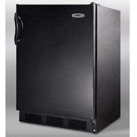 Enlarge Summit FF7B 5.5 cf Commercial Undercounter All Refrigerator - Black