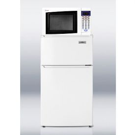Enlarge Summit MRF35 Refrigerator-Microwave Combo - White