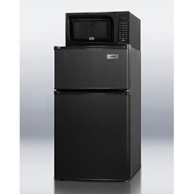 Enlarge Summit MRF35B Refrigerator-Microwave Combo - Black