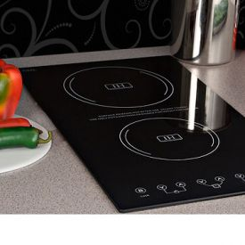 Enlarge Summit SINC2220 - Ceramic Glass Induction Cooktops - 2-Zone