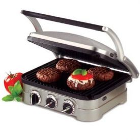 Enlarge Cuisinart GR-4 Griddler Electric Griddle/Indoor Grill