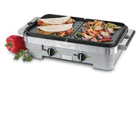 Enlarge Cuisinart GR-55 Griddler Combo Electric Griddle/Indoor Grill