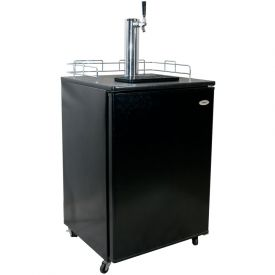 Enlarge Haier HBF05EABNK Full-Size Kegerator - Black Beer Dispenser