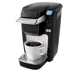 Enlarge Keurig Mini Plus B31 Brewing System Personal Coffee Brewer - Black