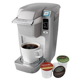 Enlarge Keurig Mini B31 Personal Coffee Brewer - Platinum