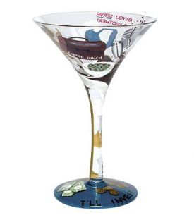 Enlarge Martini Lunch Glass by Lolita Love my Martini