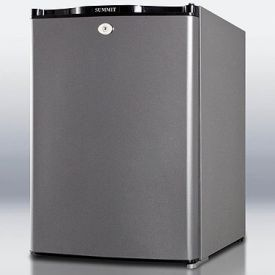 Enlarge Scratch and Dent - Summit MB34L 40-L Minibar Absorption Refrigerator - Charcoal Grey