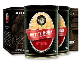 Enlarge Mr. Beer Refill Brew Pack - Witty Monk Witbier