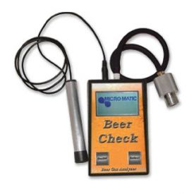 Enlarge Beer Check Gas Analyzer with Leak Sensor Wand