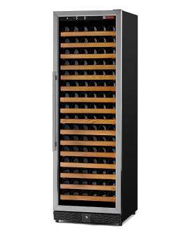 Enlarge Allavino MWR-1681-SSL 170 Bottle Wine Cellar Refrigerator - Bottle Single-Zone  Black Cabinet with Stainless Door - Left Hinge