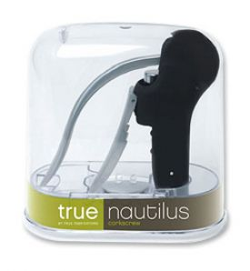 Enlarge Nautilus Corkscrew Wine Opener - Black