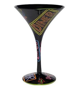Enlarge Neon-tini Martini Glass by Lolita Love My Martini Collection