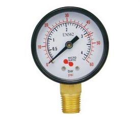 Enlarge 624 - Low Pressure Replacement Gauge - Right Hand Thread