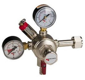 Enlarge 642 - Premium Grade Double Gauge Co2 Draft Beer Regulator