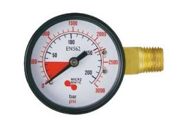 Enlarge 6603 - High Pressure Replacement Gauge - Left Hand Thread