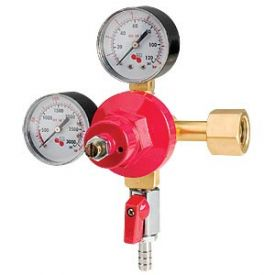 Enlarge 942B - High Pressure Double Gauge Mixed Gas Primary Co2 Regulator