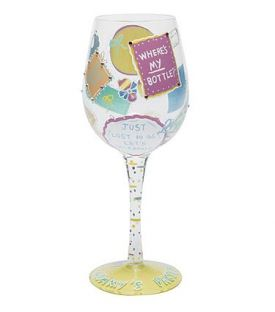 Enlarge New Mommy Wine Glass by Lolita Love My Wine Stemware Collection
